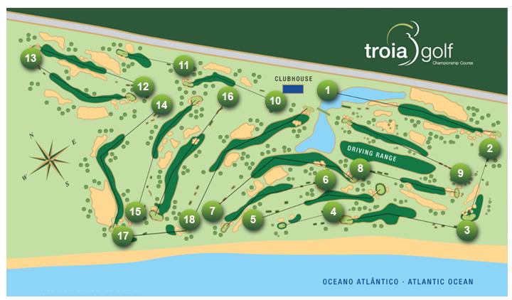 campo iberian golf cup recorrido troia golf course