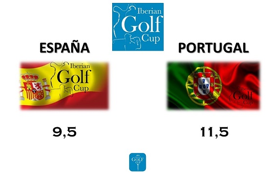 Portugal gana la Iberian Golf Cup 2015