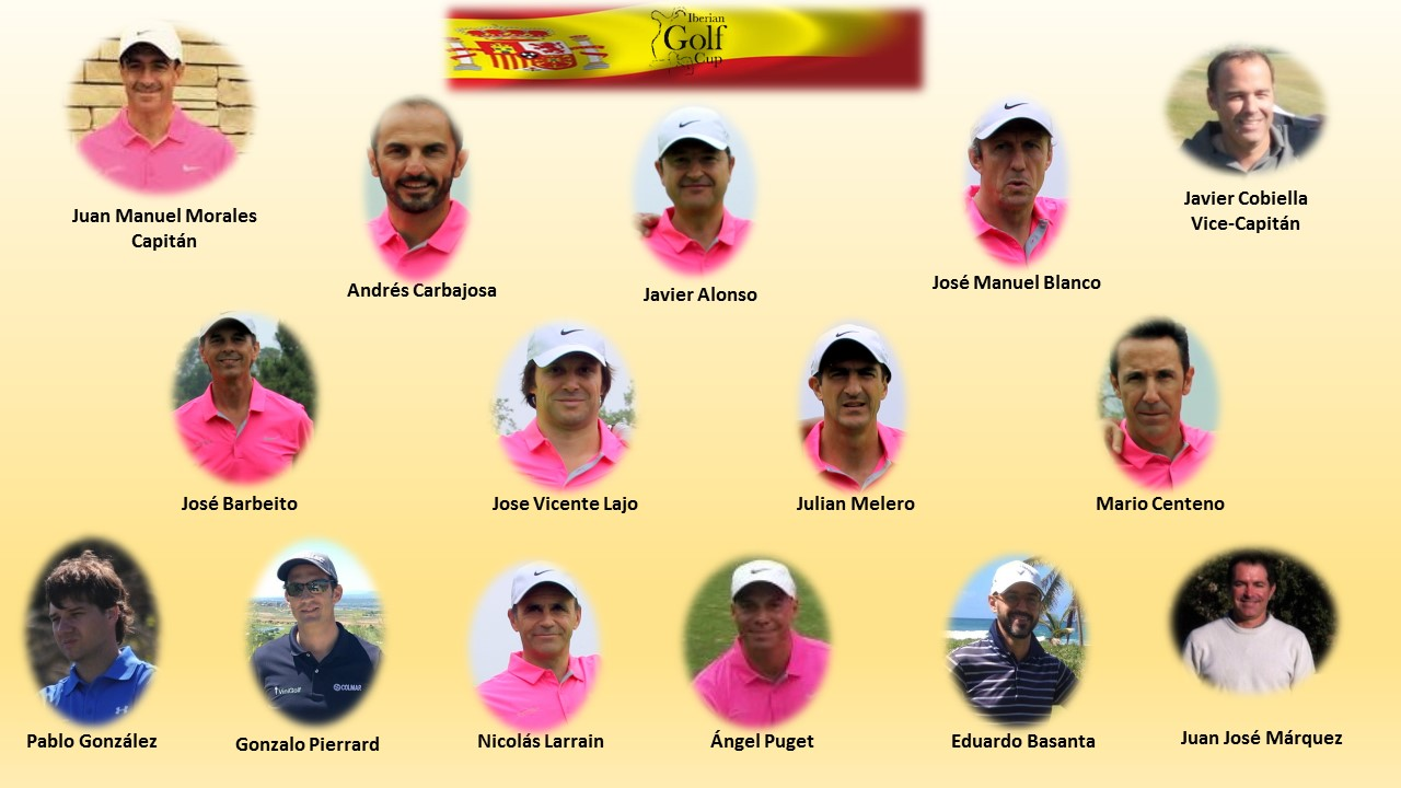 Iberian golf cup EQUIPO de ESPAÑA