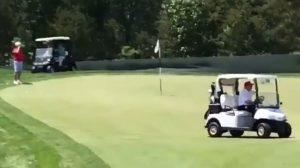 iberian golf cup, juego lento, trump