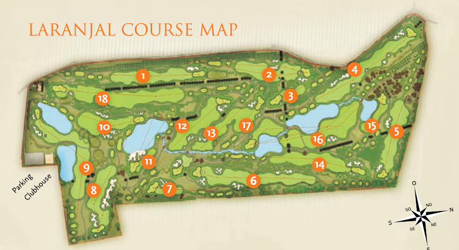 iberian golf cup laranjal quinta do lago course map
